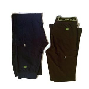 Med Couture Activate lot of 2 scrub pants